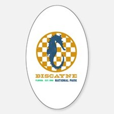 Cute Biscayne national park Sticker (Oval)