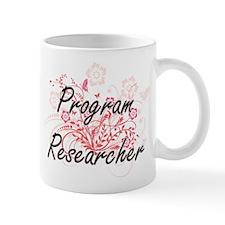 Program Researcher Artistic Job Design with F Mugs