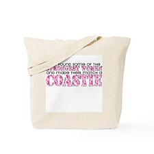 Strongest Woman: Coastie Tote Bag