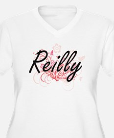 Reilly surname artistic design w Plus Size T-Shirt