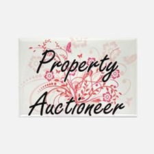 Property Auctioneer Artistic Job Design wi Magnets