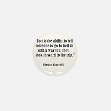 tact:Winston Churchhill Mini Button (10 pack)