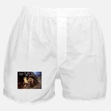 Jesus is the reason for the season Boxer Shorts