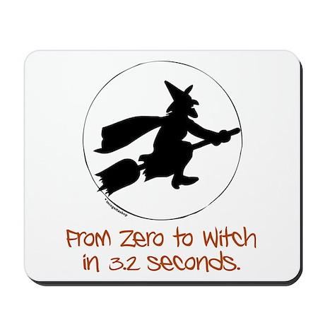 Zero to Witch Mousepad