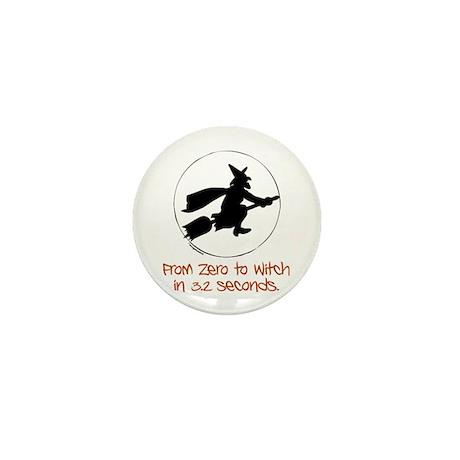 Zero to Witch Mini Button