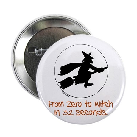 """Zero to Witch 2.25"""" Button (100 pack)"""
