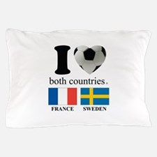 FRANCE-SWEDEN Pillow Case