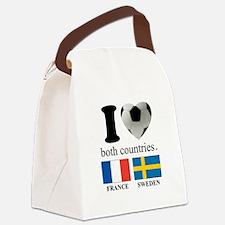FRANCE-SWEDEN Canvas Lunch Bag