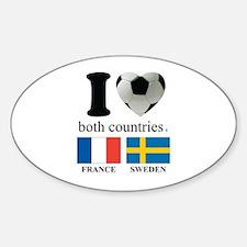 FRANCE-SWEDEN Decal