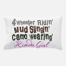 kinda girl Pillow Case