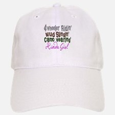 kinda girl Baseball Baseball Cap