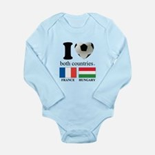 FRANCE-HUNGARY Long Sleeve Infant Bodysuit