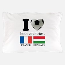 FRANCE-HUNGARY Pillow Case