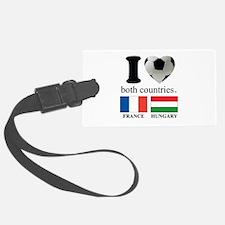 FRANCE-HUNGARY Luggage Tag