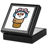 Cute Little Girl Snow Cone Keepsake Box