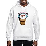 Cute Little Girl Snow Cone Hooded Sweatshirt