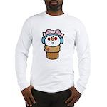 Cute Little Girl Snow Cone Long Sleeve T-Shirt