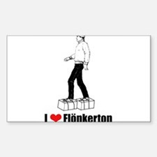 Flonkerton Rectangle Decal