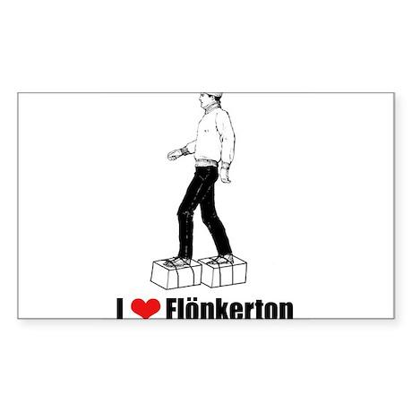Flonkerton Rectangle Sticker