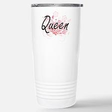 Queen Artistic Job Desi Travel Mug