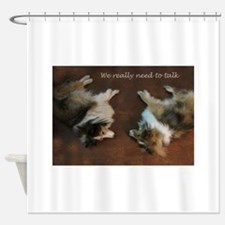 We really need to talk Shower Curtain