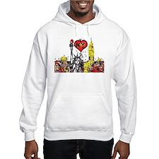 I love NY Hoodie Sweatshirt
