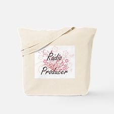 Radio Producer Artistic Job Design with F Tote Bag