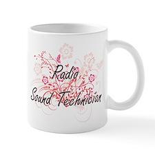 Radio Sound Technician Artistic Job Design wi Mugs