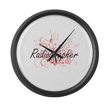 Radiographer Artistic Job Design Large Wall Clock