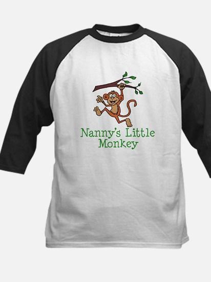 Nanny's Little Monkey Baseball Jersey