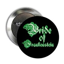 Bride of Frankenstein Button
