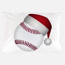 Christmas Baseball Pillow Case