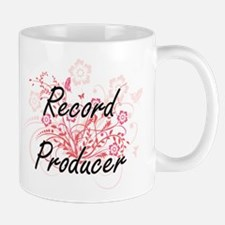 Record Producer Artistic Job Design with Flow Mugs