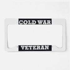 Cold War Era Veteran License Plate Holder
