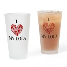Unique Lola Drinking Glass