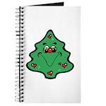 Cute Happy Christmas Tree Journal