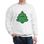 Cute Happy Christmas Tree Sweatshirt