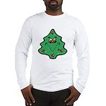 Cute Happy Christmas Tree Long Sleeve T-Shirt