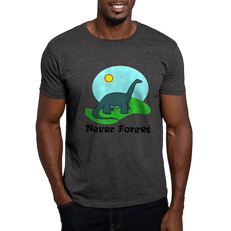 Never Forget Dino Dark T-Shirt