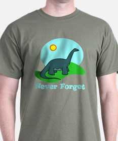 Never Forget Dino T-Shirt
