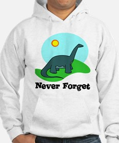 Never Forget Dino Hoodie