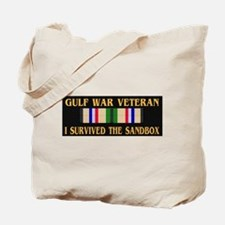 I survived the sandbox Tote Bag