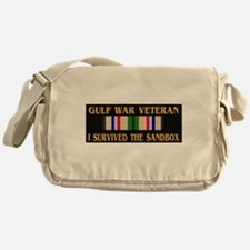 I survived the sandbox Messenger Bag