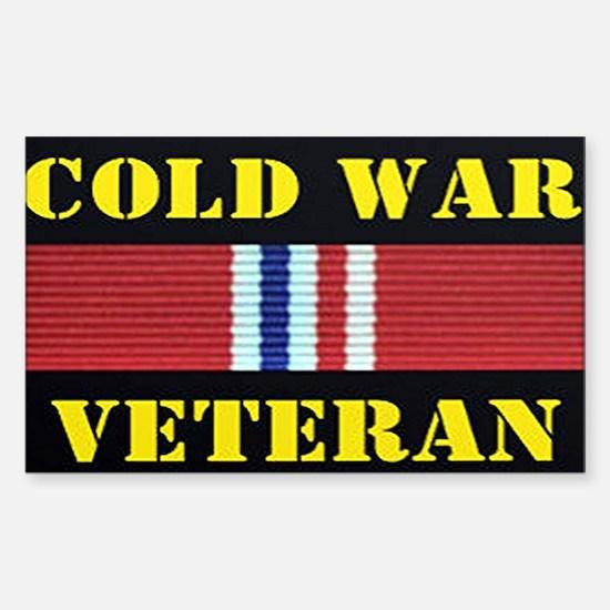 COLD WAR VETERAN Decal