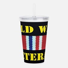 COLD WAR VETERAN Acrylic Double-wall Tumbler