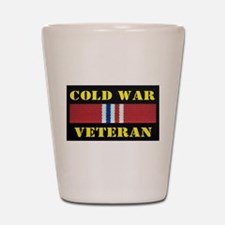 COLD WAR VETERAN Shot Glass