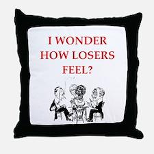 winner joke Throw Pillow