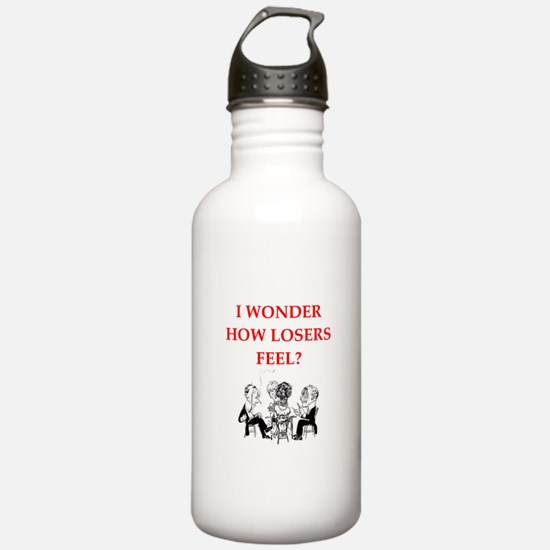 winner joke Water Bottle