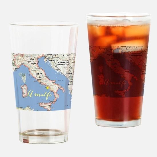 Amalfi, Italy Drinking Glass
