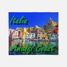 Beautiful Amalfi Coast Throw Blanket